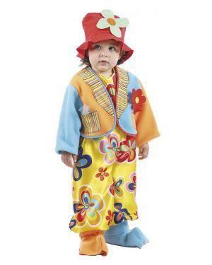 Fato de Palhacito Bebé para Carnaval | A Casa do Carnaval.pt