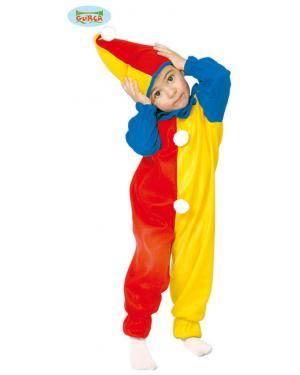 Fato Palhaçito clown para Bebé, Loja de Fatos Carnaval, Disfarces, Artigos para Festas, Acessórios de Carnaval, Mascaras, Perucas 496 acasadocarnaval.pt
