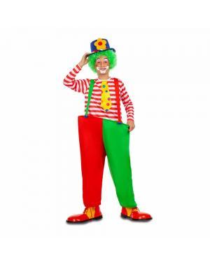 Fato Palhaço Divertida para Carnaval