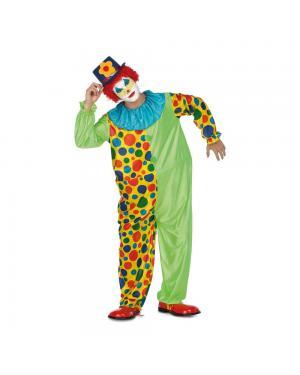 Fato Palhaço Macaco Aro M/L para Carnaval