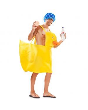 Fato Patinho da Banheira Adulto para Carnaval