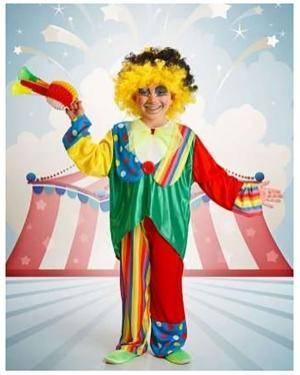 Fato Payaso Infantil Disfarces A Casa do Carnaval.pt
