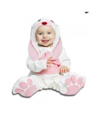 Fato Pequeno Coelhinho Rosa para Carnaval