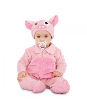 Fato Pequeno Porquinho Bebé para Carnaval