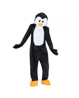 Fato Pinguim Mascote Gigante para Carnaval