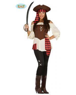 Fato pirata dos 7 mares para mulher, Loja de Fatos Carnaval, Disfarces, Artigos para Festas, Acessórios de Carnaval, Mascaras, Perucas 565 acasadocarnaval.pt