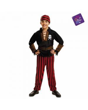 Fato Pirata Bandana Menino para Carnaval