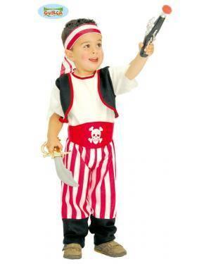 Fato Pirata para Bebé, Loja de Fatos Carnaval, Disfarces, Artigos para Festas, Acessórios de Carnaval, Mascaras, Perucas, Chapeus 133 acasadocarnaval.pt