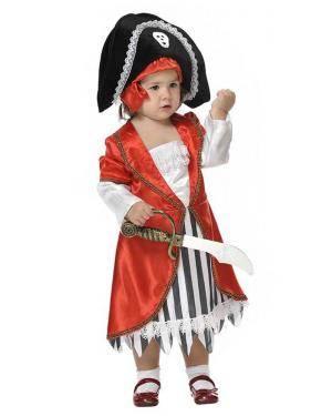 Fato de Pirata Bebé para Carnaval | A Casa do Carnaval.pt