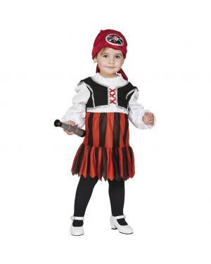 Fato Pirata Bebé Menina para Carnaval