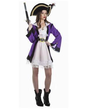 Fato Pirata Corsaria T. M/L Disfarces A Casa do Carnaval.pt