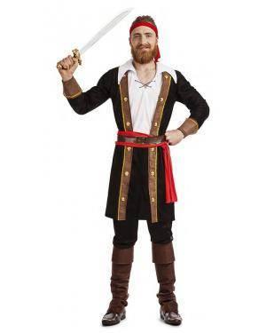 Fato Pirata Corsário T. M/L Disfarces A Casa do Carnaval.pt