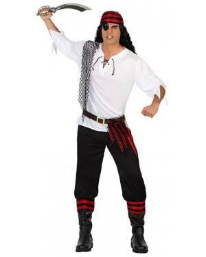 Fato Pirata Homem Adulto Disfarces A Casa do Carnaval.pt