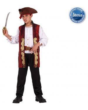 Fato Pirata de Luxo Menino Disfarces A Casa do Carnaval.pt