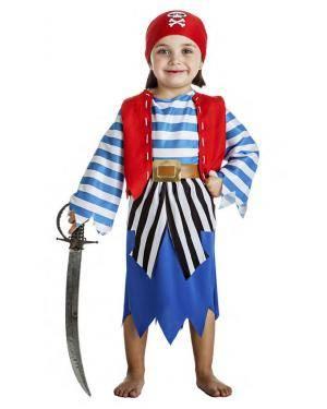 Fato Pirata Menina 1-2 Anos Disfarces A Casa do Carnaval.pt