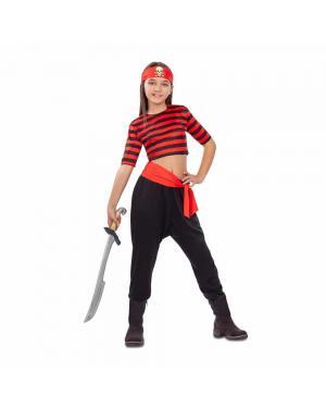 Fato Pirata Menina para Carnaval
