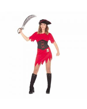 Fato Pirata Mulher M/L para Carnaval