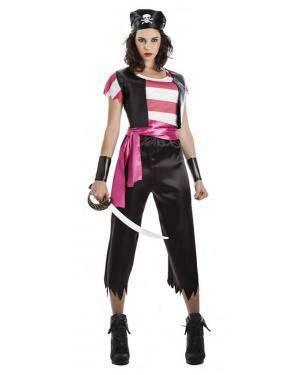 Fato Pirata Mulher T. XL Disfarces A Casa do Carnaval.pt