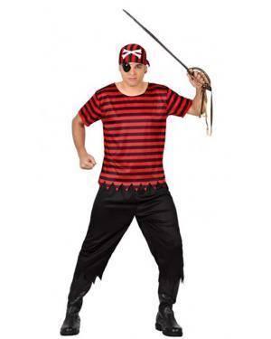 Fato Pirata Ruim Adulto Disfarces A Casa do Carnaval.pt