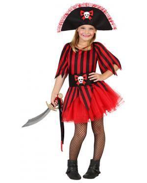 Fato Pirata com Tutu Menina Disfarces A Casa do Carnaval.pt