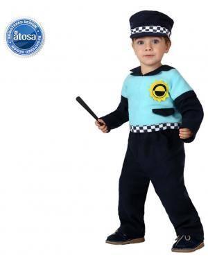 Fato Policia Bebé Disfarces A Casa do Carnaval.pt