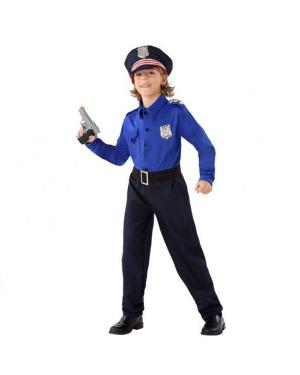 Fato Policia Criança para Carnaval