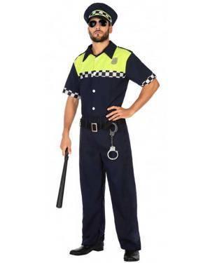 Fato Polícia Local Adulto para Carnaval