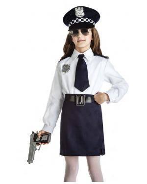 Fato Policia Menina 1-2 Anos para Carnaval