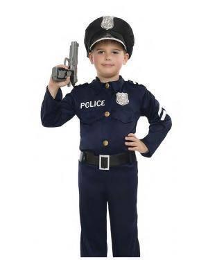 Fato Policia Menino 3-4 Anos para Carnaval