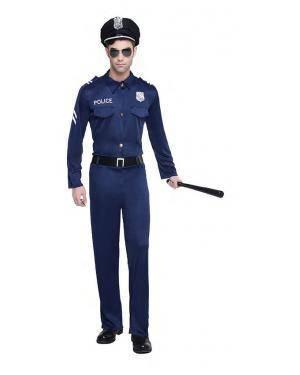 Fato Policia Tamanho S para Carnaval