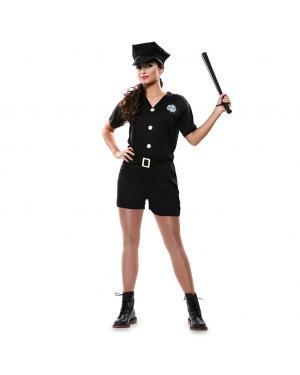 Fato Policial Sexy Adulto para Carnaval
