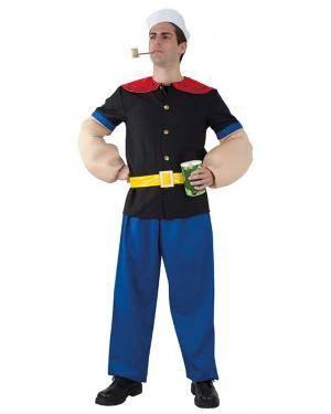Fato de Popeye Adulto para Carnaval | A Casa do Carnaval.pt