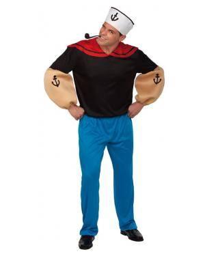 Fato Popeye Marinheiro Adulto Disfarces A Casa do Carnaval.pt