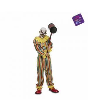 Fato Prank Clown Adulto para Carnaval