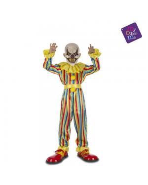 Fato Prank Clown Criança para Carnaval