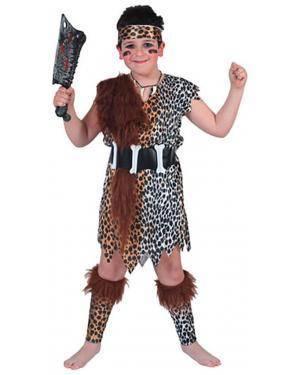 Fato Primitivo Menino 70595, Loja de Fatos Carnaval acasadocarnaval.pt, Disfarces, Acessórios de Carnaval, Mascaras, Perucas, Chapeus e Fantasias