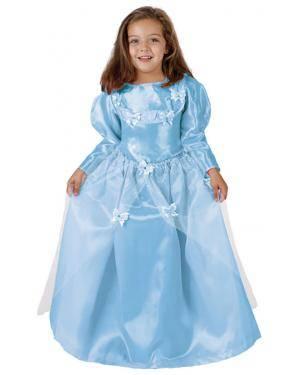 Fato Princesa Azul Menina Disfarces A Casa do Carnaval.pt