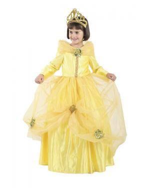 Fato de Princesa Bela Infantil para Carnaval | A Casa do Carnaval.pt