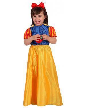 Fato Princesa Branca Neve Menina Disfarces A Casa do Carnaval.pt