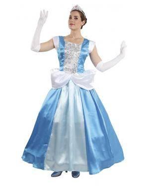 Fato Princesa Cinderela Mulher para Carnaval | A Casa do Carnaval.pt