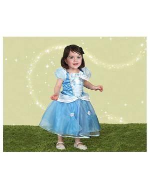 Fato Princesa Cinderella Disney Bebé 12 a 18 meses Disfarces A Casa do Carnaval.pt