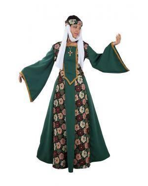 Fato de Princesa Medieval Adulto para Carnaval   A Casa do Carnaval.pt