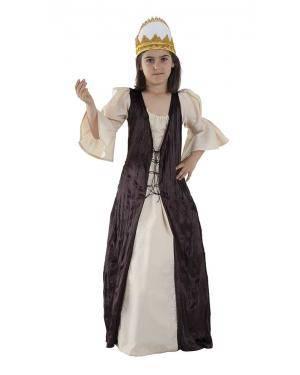 Fato de Princesa Medieval Infantil para Carnaval | A Casa do Carnaval.pt