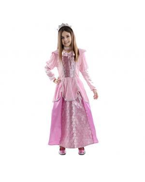 Fato Princesa rosa para Carnaval