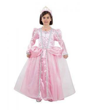 Fato de Princesa Rosa Infantil para Carnaval | A Casa do Carnaval.pt