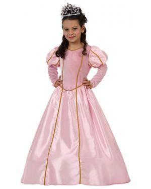Fato Princesa Rosa Menina Disfarces A Casa do Carnaval.pt