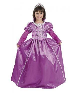 Fato de Princesa Roxa Infantil para Carnaval | A Casa do Carnaval.pt