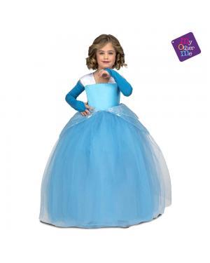 Fato Princesa Tutú Azul para Carnaval