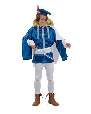 Fato de Príncipe Azul Adulto para Carnaval | A Casa do Carnaval.pt