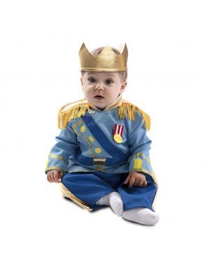 Fato Príncipe Azul Bebé para Carnaval